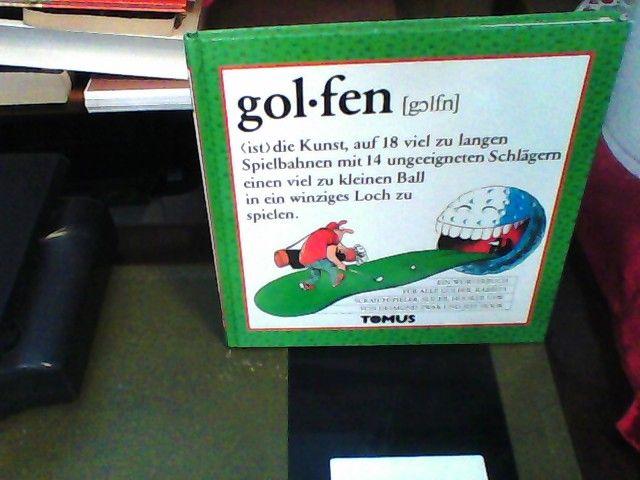 Golfen (Tomus - Die fröhlichen Wörterbücher) - Zwar, Desmond und Horst Wendland