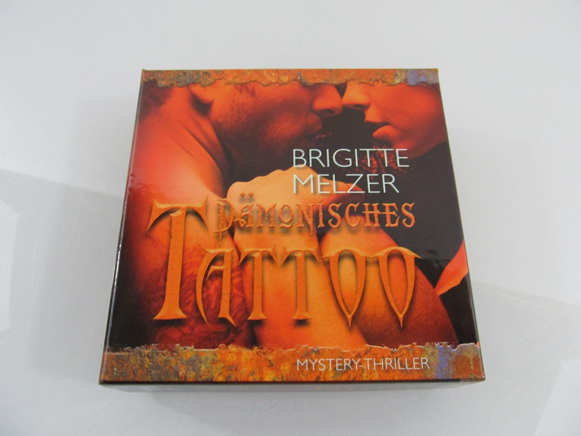 Dämonisches Tattoo : Mystery-Thriller / Brigitte Melzer. Ungekürzte Lesung von Manfred Callsen / Krimi-Bibliothek - Melzer, Brigitte und Manfred Callsen