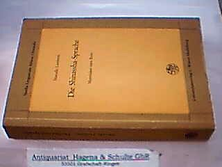Die Shinassha-Sprache. Materialien zum Boro. (= Studia Linguarum Africae Orientalis Band 4). - Lamberti, Marcello