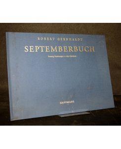 Septemberbuch Zwanzig Zeichnungen Zu Zehn Gedichten Von Robert Gernhardt
