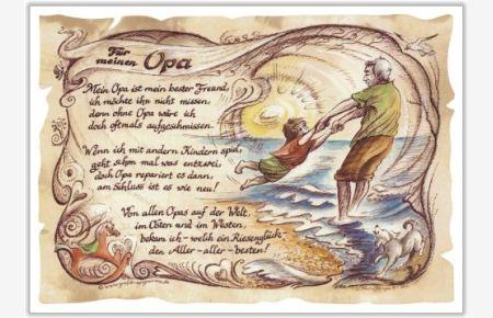 Gedicht Opa Spruch Gedichte Geschenk Präsent Jubiläum